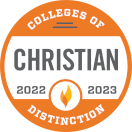 Colleges of Distinction Christian seal