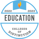 Colleges of Distinction Education logo