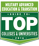 Military Advanced Education Top School Seal