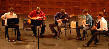 Guitar Ensemble, Belhaven University Music Department