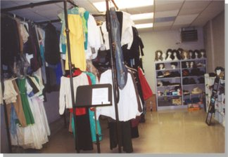Center for the Arts - Wardrobe Room