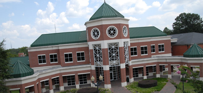 Student Center, Belhaven University Campus