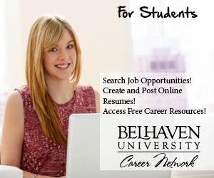 Log in to Belhaven Career Network