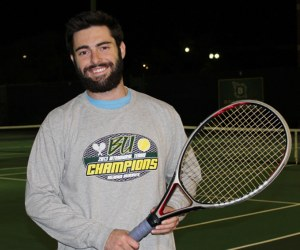 Men's Intramurals Tennis Champ