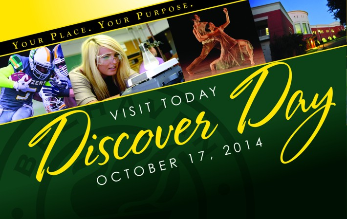 Belhaven Discover Day Fall 2014