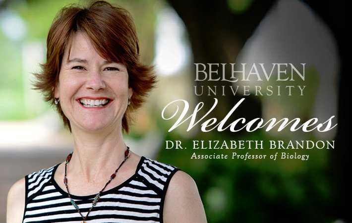 Belhaven University Welcomes Dr. Elizabeth Brandon