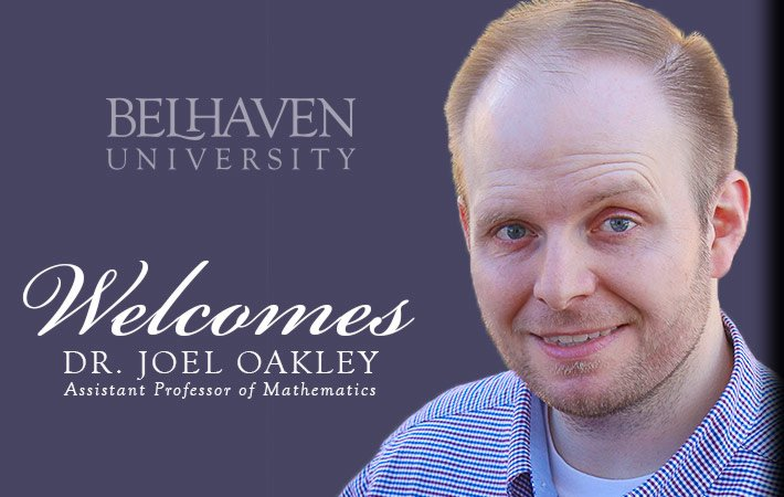 Belhaven University Welcomes Dr. Joel Oakley