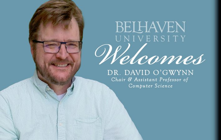 Belhaven Welcomes New Computer Science Professor
