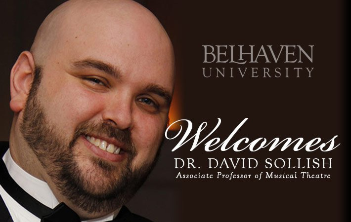 Belhaven Theatre Welcomes Dr. David Sollish