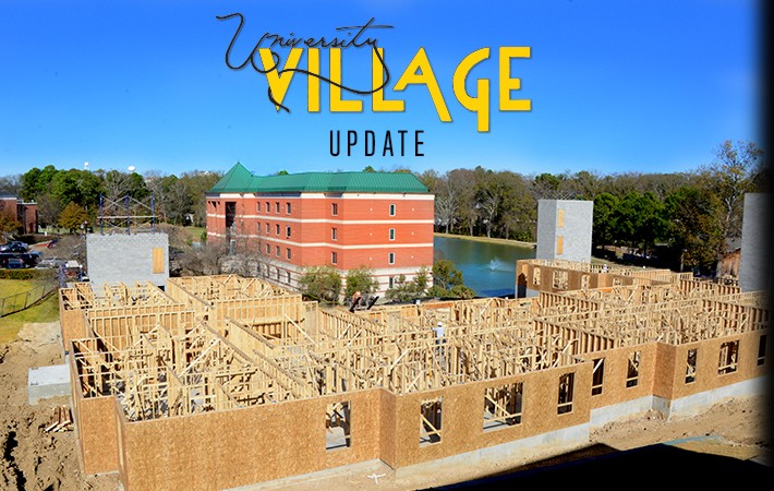 Belhaven University Village Construction Progress