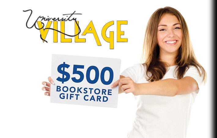 First Time University Village Residents to Receive $500 Bookstore Gift Card