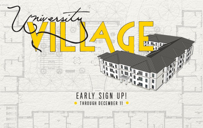 University Village Advance Registration