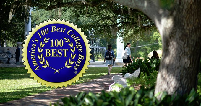 America's 100 Best College Buys Seal Image