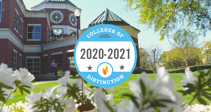 2020-2021 College of Distinction Image