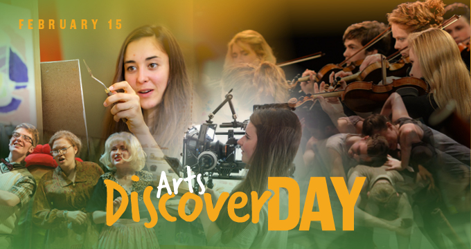 Arts Discover Day announcement Image