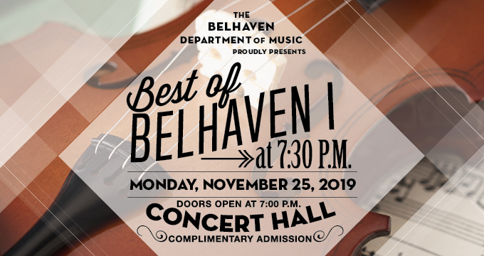 Best of Belhaven I Concert accouncement Image