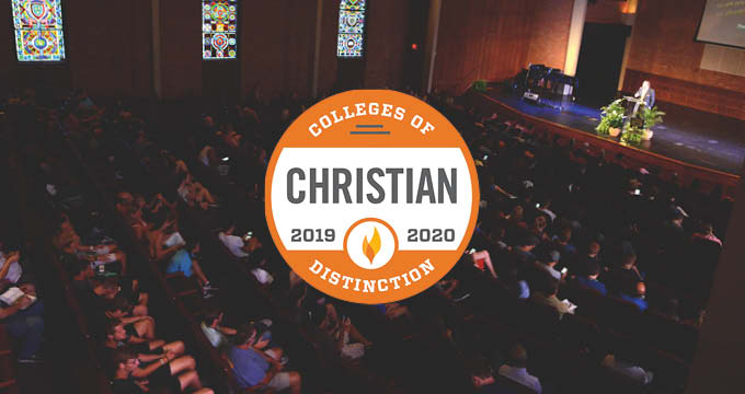 Christian College of Distinction announcement Image