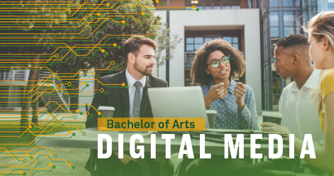 New Digital Media Degree announcement Image