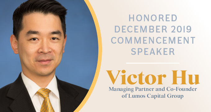 Victor Hu to Speak at Belhaven Graduation Ceremony Image
