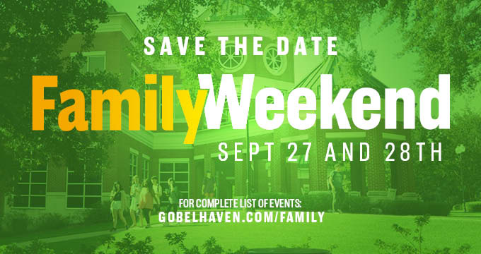 Family Weekend announcement Image