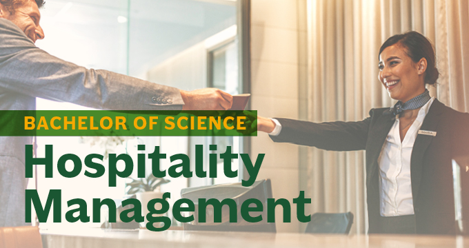 Hospitality Management announcement Image