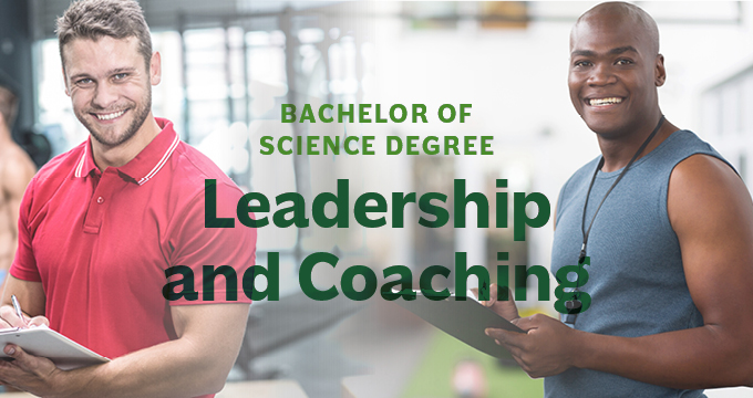 New Leadership and Coaching Degree announcement Image