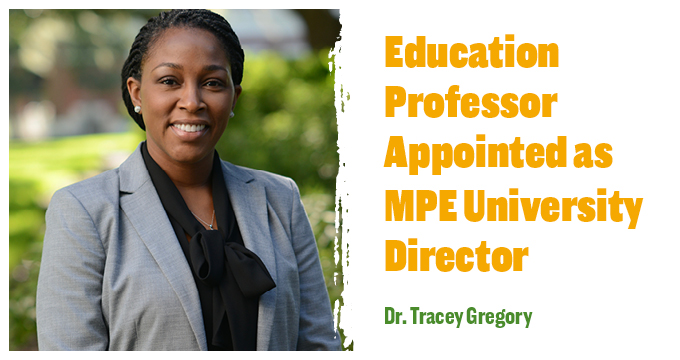 Dr. Tracey Gregory announcement Image