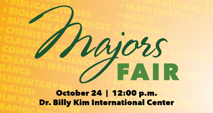 Majors Fair announcement Image