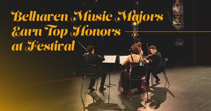 Music Majors Earn Top Honors announcement Image