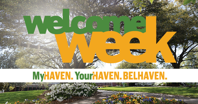 Welcome Week announcement Image