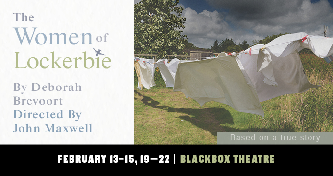 Belhaven's The Women of Lockerbie performance announcement Image