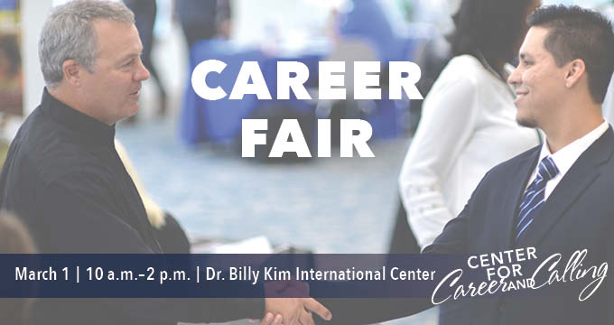 career fair Announcement Image