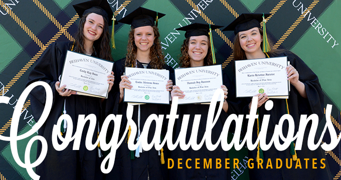 December 2017 Commencement Image