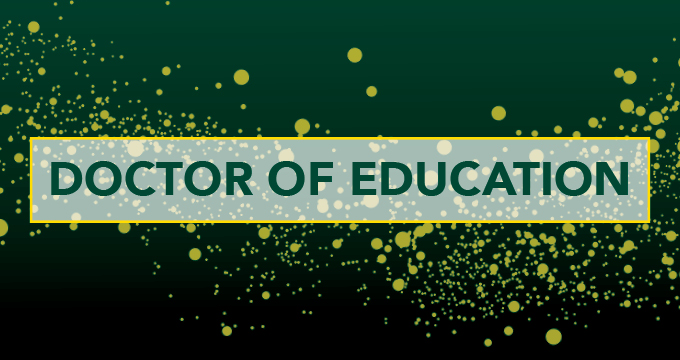 Doctor of Education Image