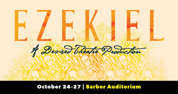 Ezekiel theatre production announcement Image