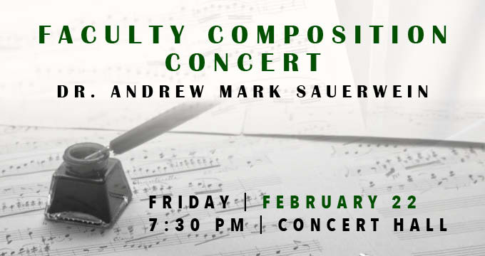 read about faculty concert announcement Image