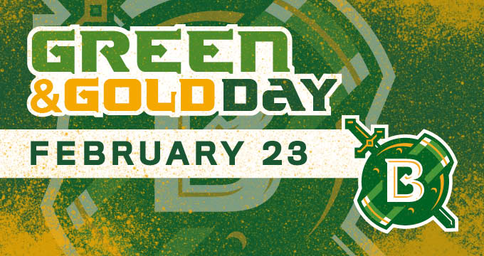 read about green and gold day announcement Image