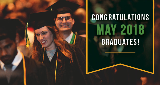 2018 May commencement announcement Image