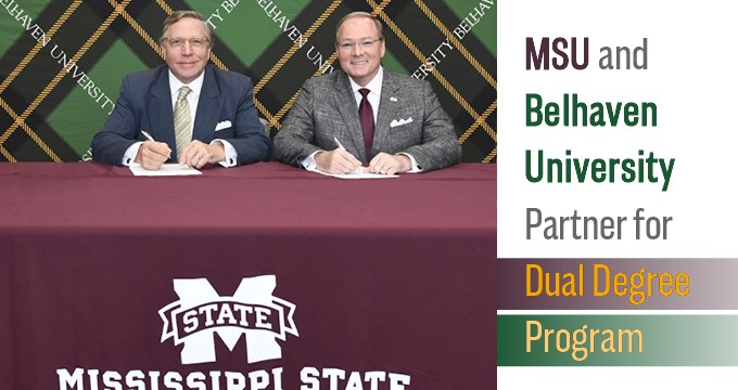 MSU partnership announcement Image