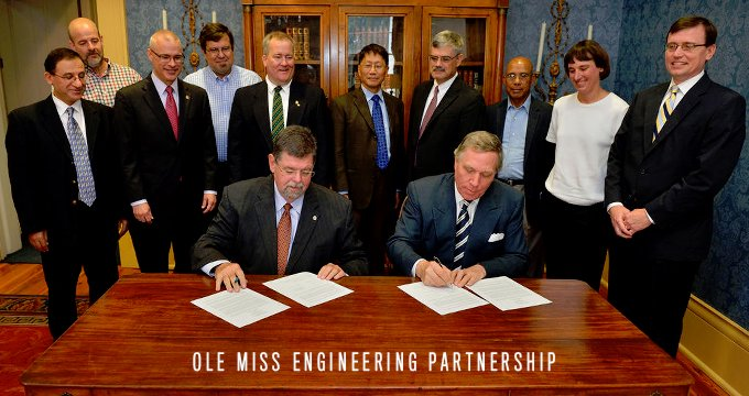 Ole Miss Belhaven Engineering Partnership Image