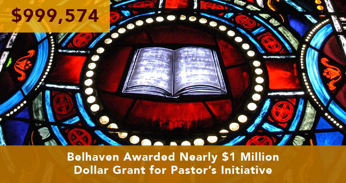 pastor grant announcement Image