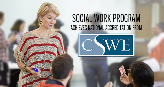 Social Work Accreditation Image