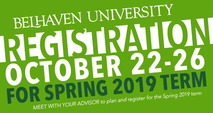 spring registration announcement Image