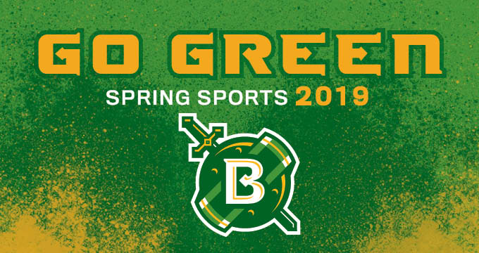 spring sports announcement