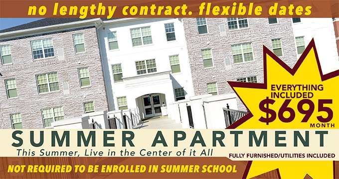 Summer Housing Announcement Image