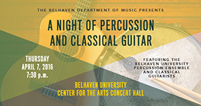 Night of Percussion and Classical Guitar