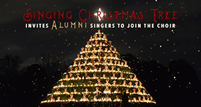 Alumni Singing Christmas Tree