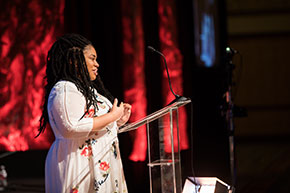 Angie Thomas CCCU Young Alumni Award 2018