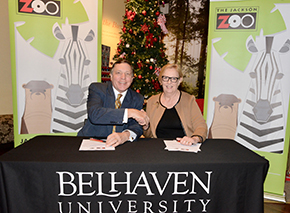 Belhaven and Jackson Zoo Partnership