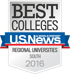 U.S. News Best Colleges List 2015 Medallion